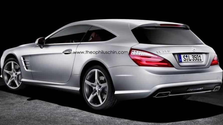 Mercedes SL Shooting Brake gets rendered, should it be built?