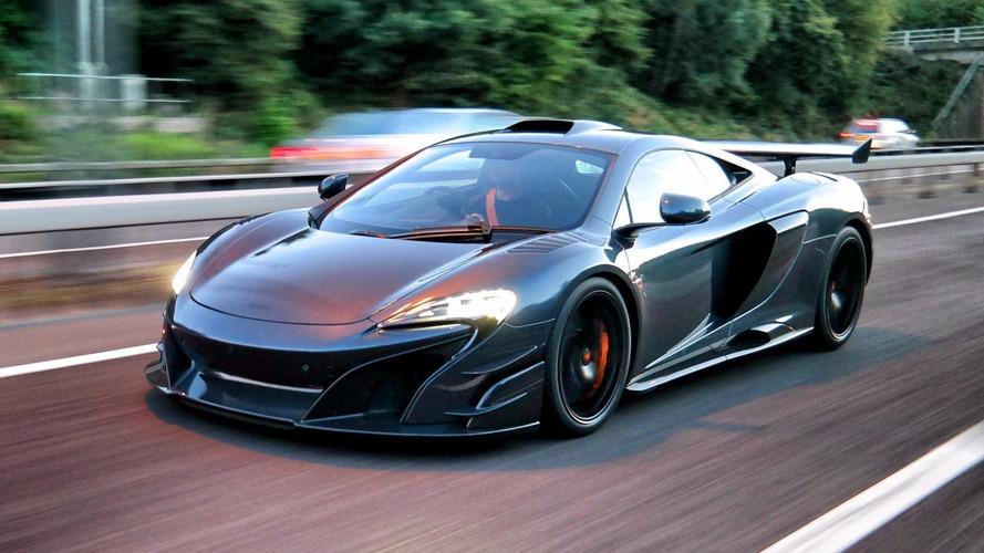 İlk McLaren MSO HS'in teslimatına bir göz atın