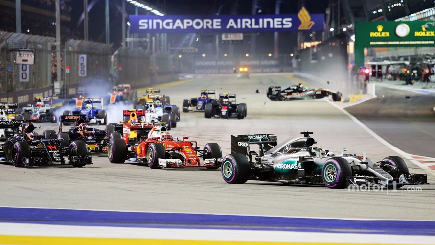 F1 Singapore Grand Prix - Race Results