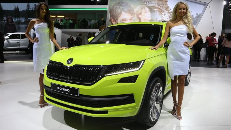Skoda Kodiaq SUV debuts in Paris