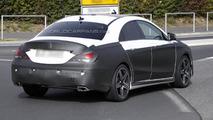 Mercedes CLA45 spy photo 22.10.2012 / Automedia