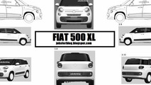 Possible Fiat 500 XL