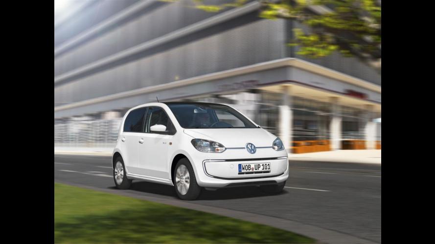 Volkswagen e-up!, due elettriche alla Santa Sede