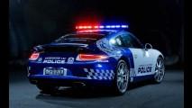 Porsche 911 Carrera é o novo integrante da polícia da Austrália