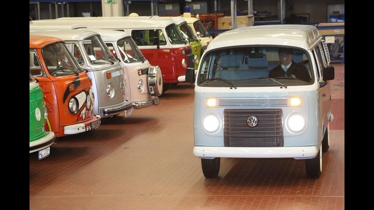 Volkswagen: última Kombi produzida no Brasil vira peça de museu na Alemanha