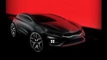 Kia divulga primeiro teaser oficial do pro_cee'd GT
