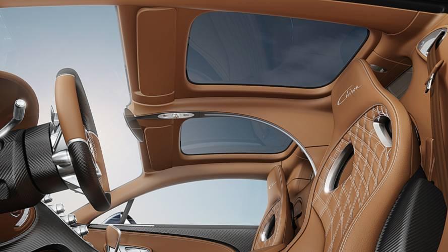 Bugatti Chiron Skyview Roof