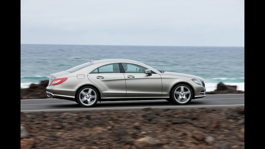 Nuova Mercedes CLS