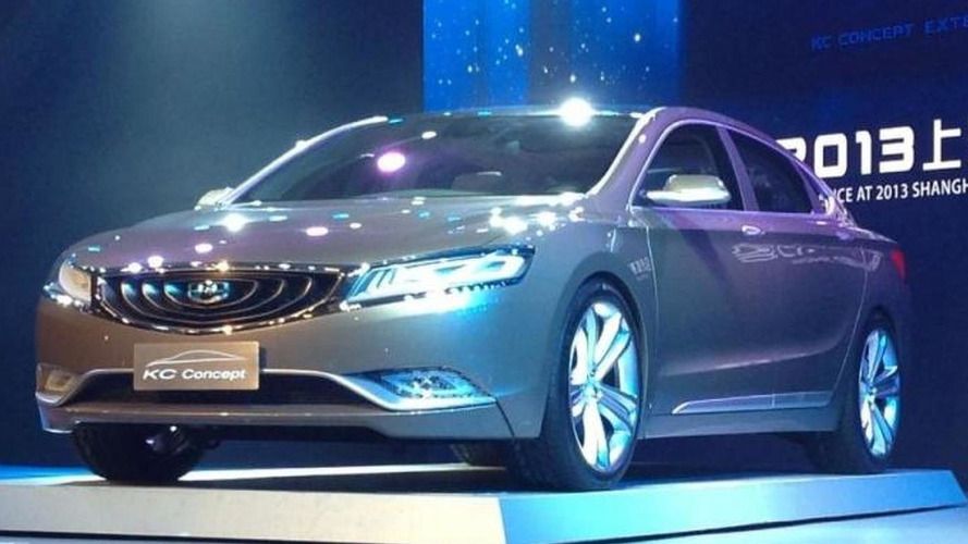 Geely KC Concept unveiled at 2013 Auto Shanghai