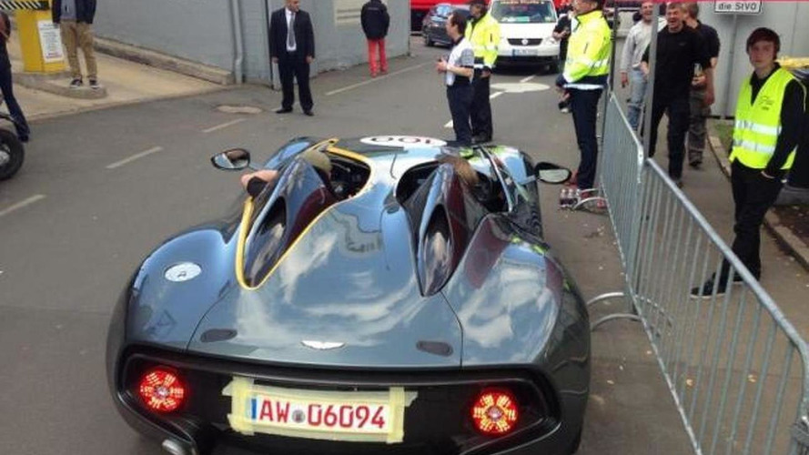 Aston Martin CC100 concept spotted ahead of tomorrow's launch