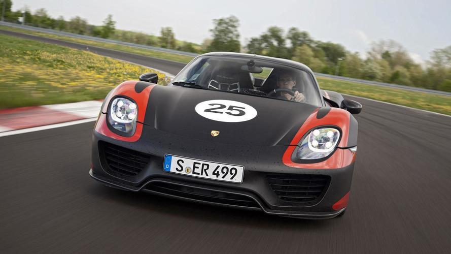 Porsche 918 Spyder still not sold out - report