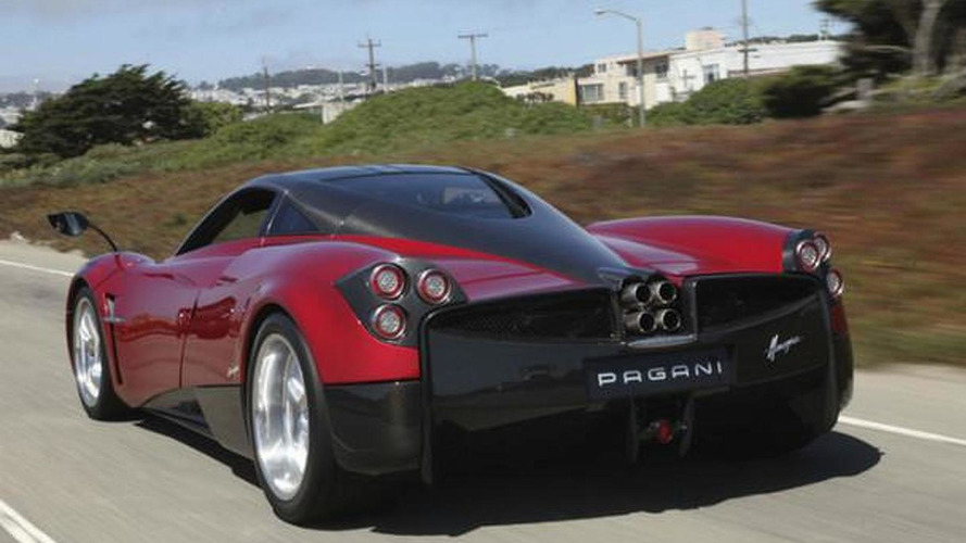 First Pagani Huayra up for sale