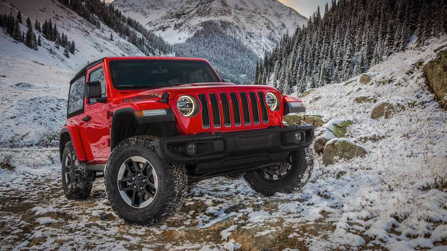 See the all-new Jeep Wrangler in pictures