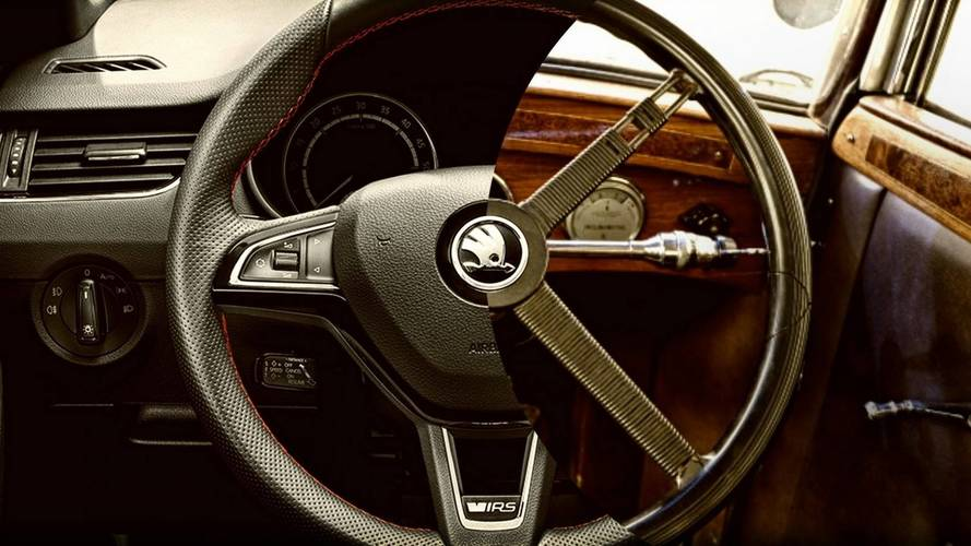 See The Evolution Of Skoda's Steering Wheels Throughout The Years