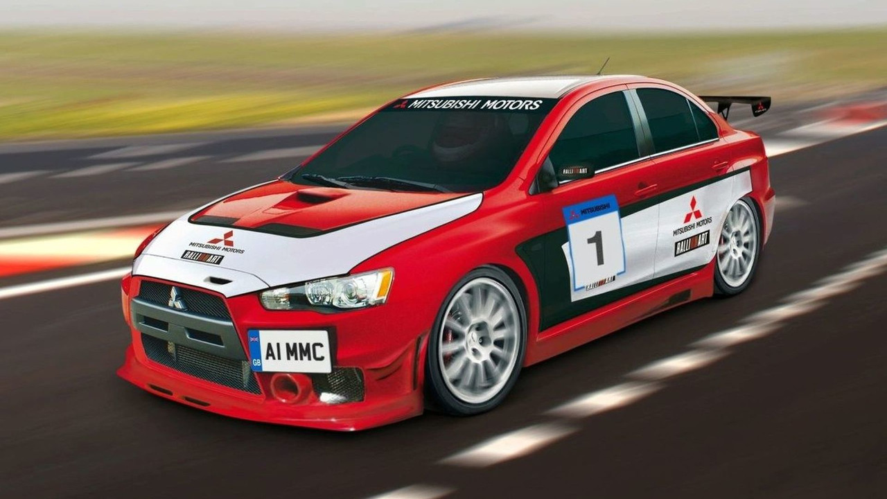 Mitsubishi Lancer Evolution 2008 Race Car