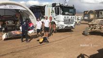 Damaged #304 Peugeot Sport Peugeot 3008 DKR- Carlos Sainz, Lucas Cruz