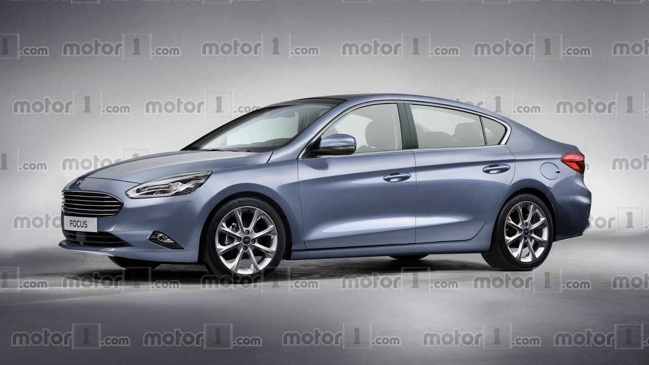 2019 Ford Focus Sedan render