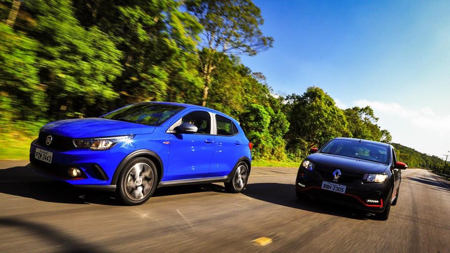 Comparativo Fiat Argo HGT e Renault Sandero R.S - Razões emocionais