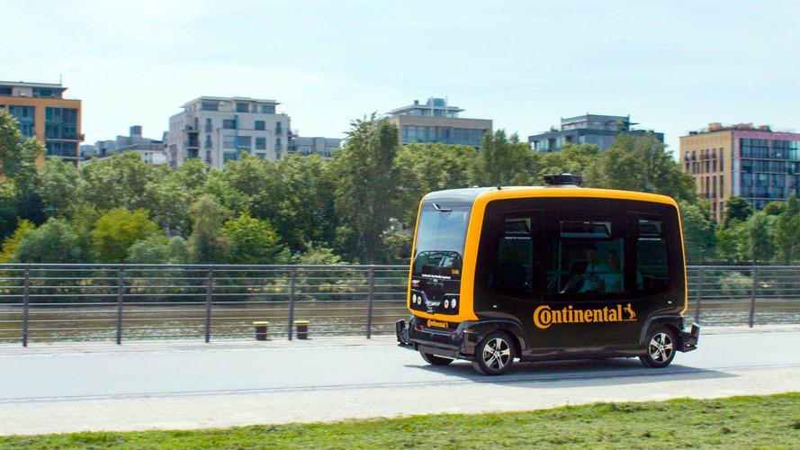 Continental trabaja en el taxi autónomo del futuro