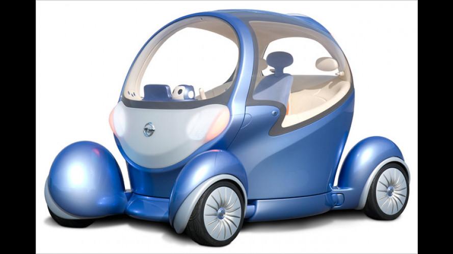 Nissan Pivo II: Harmonische Partnerbeziehung mit Roboter