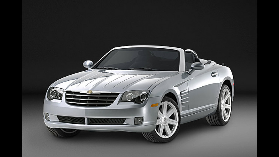 Chrysler Crossfire Roadster: Marktstart in Deutschland