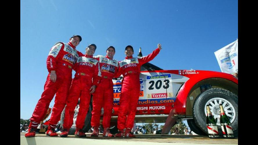 Rallye Dakar: Peterhansel siegt im Mitsubishi Pajero