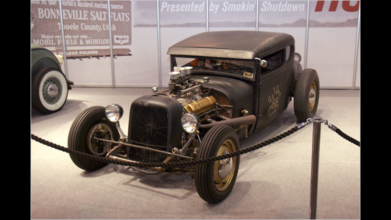 1929 Ford Coupé ,Golden Rocket 88