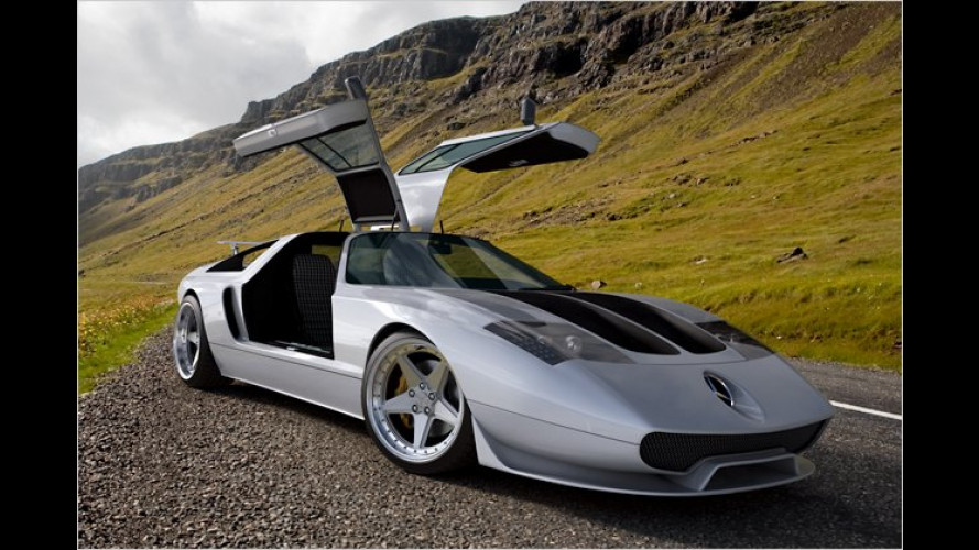 Gullwing Ciento Once: Comeback des C 111