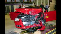 Audi lässt es krachen