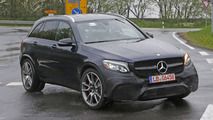Mercedes-AMG GLC 63 gets ready for V8 rumble