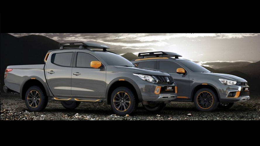 Mitsubishi reveals accessorized L200 and ASX GEOSEEK concepts