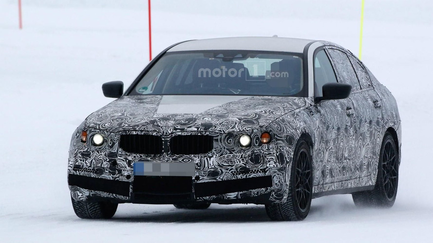 BMW M5 spied, could have up to 626 hp