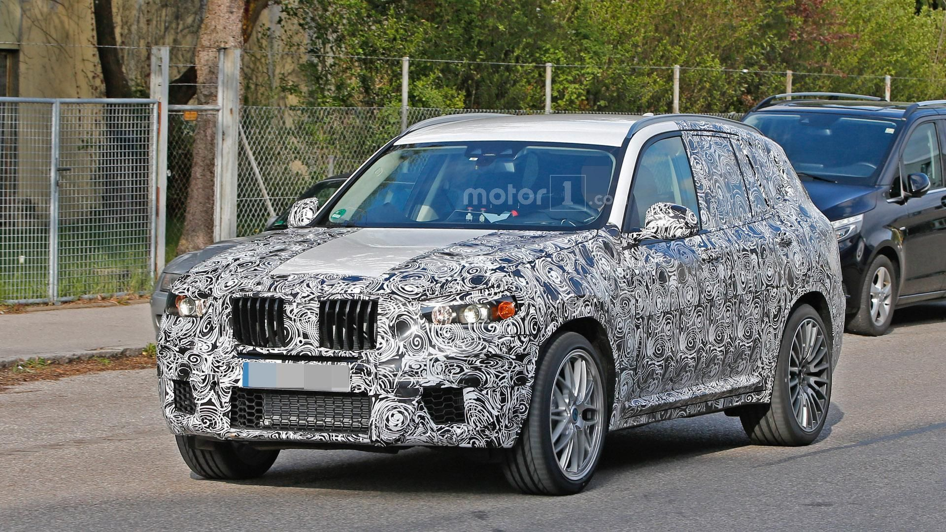 2018 bmw x3 m spied for the first time. Black Bedroom Furniture Sets. Home Design Ideas
