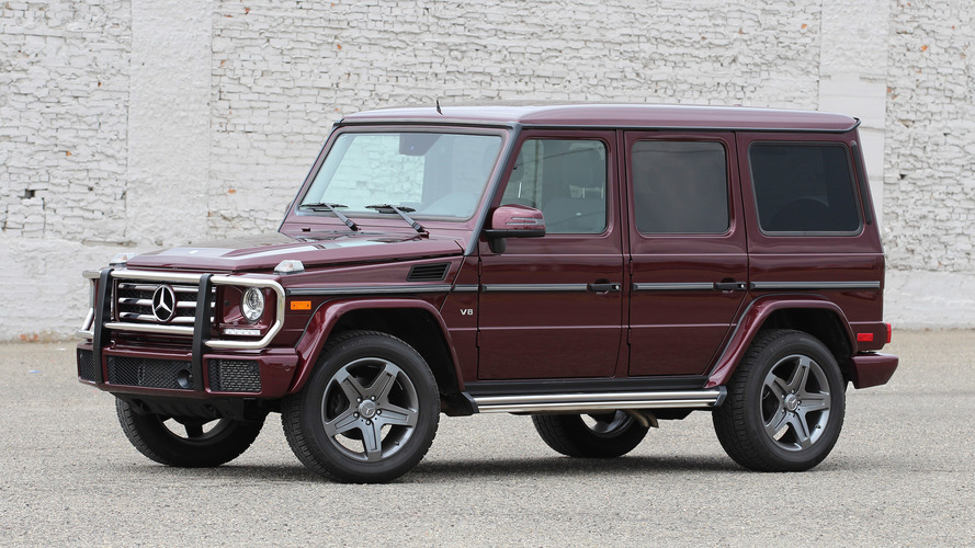 Review: 2016 Mercedes-Benz G550