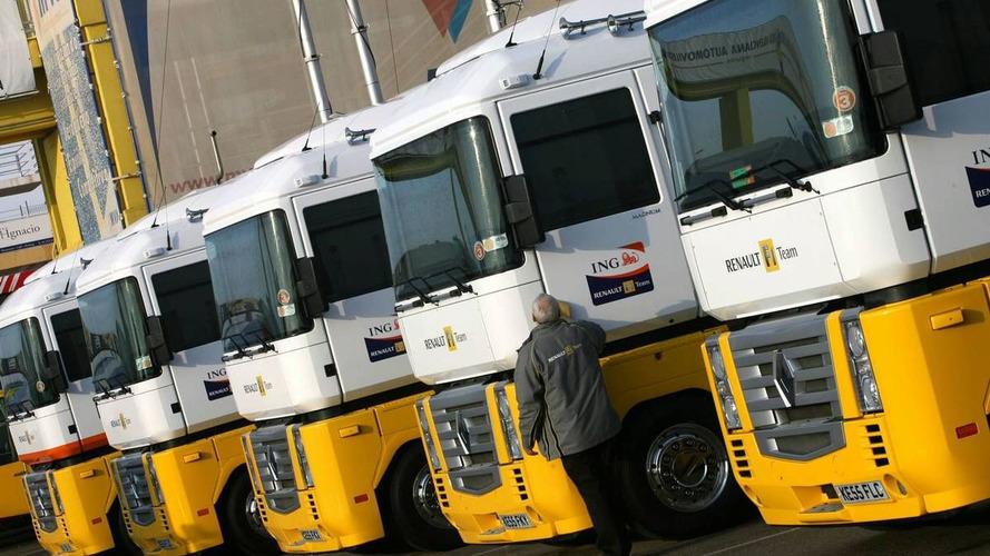 Renault trucks arrive in Valencia