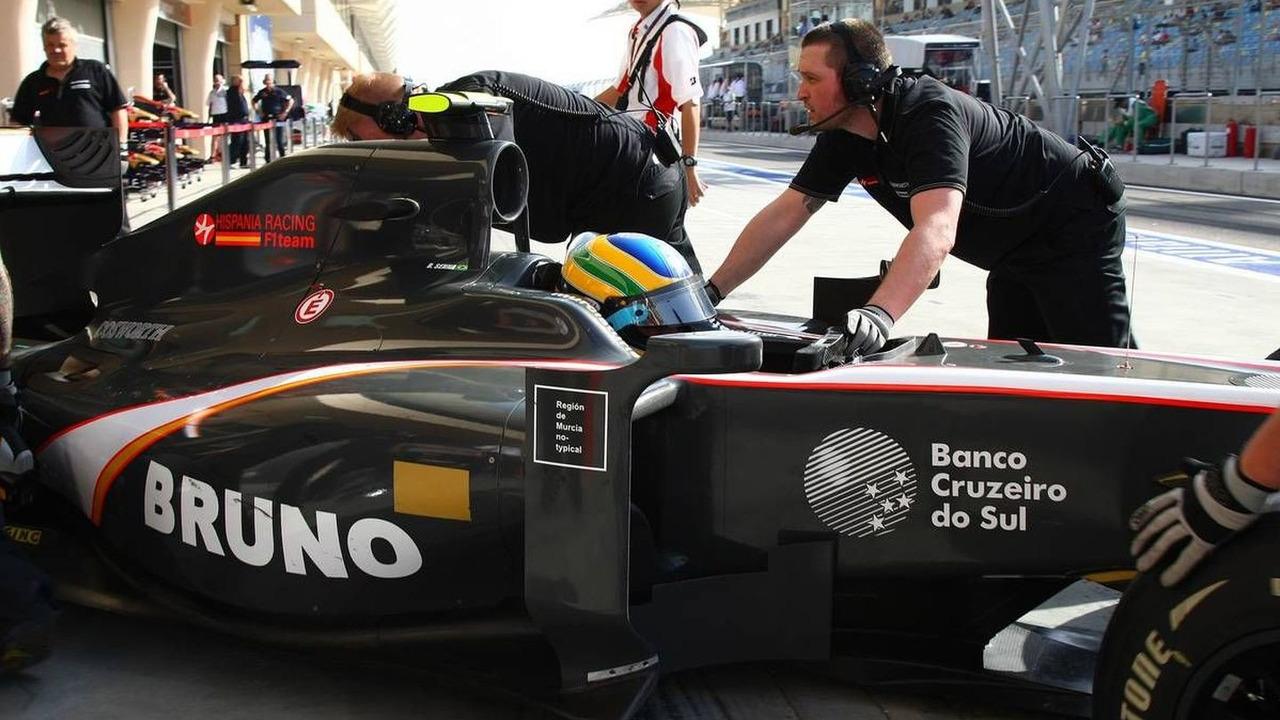 Bruno Senna (BRA), Hispania Racing F1 Team, Bahrain Grand Prix, 12.03.2010 Sakhir, Bahrain