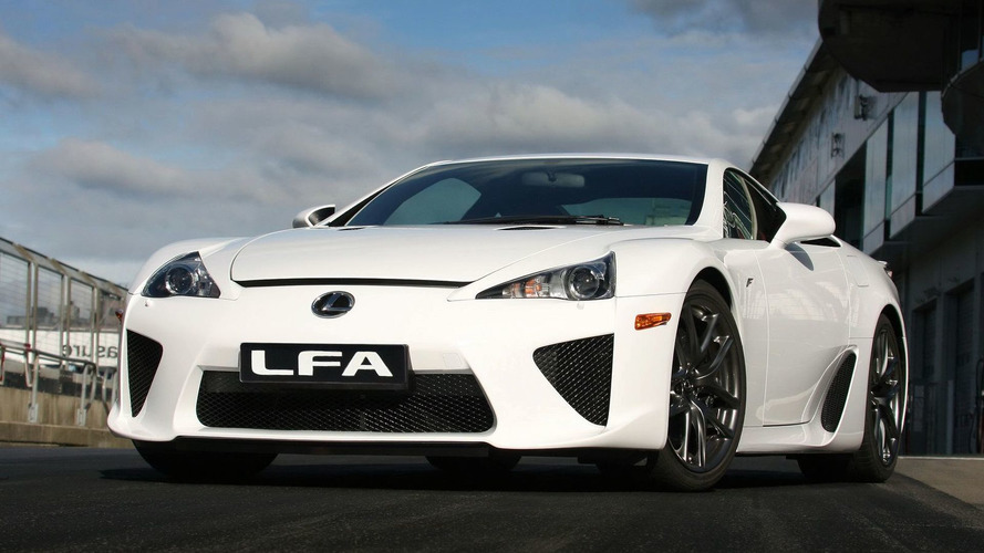 Lexus LFA Officially Unveiled in Tokyo [Video]
