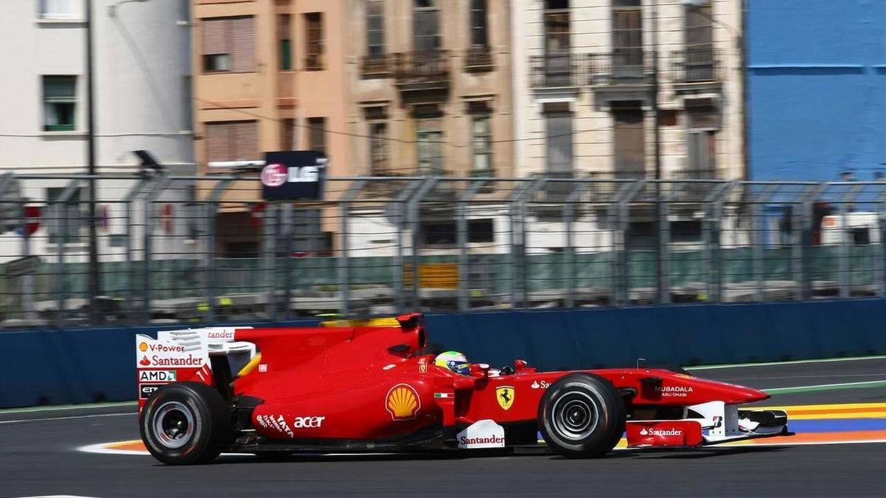 Felipe Massa (BRA), Scuderia Ferrari, European Grand Prix, 25.06.2010 Valencia, Spain