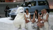 Skoda Yeti SUV at 2009 Geneva Motor Show