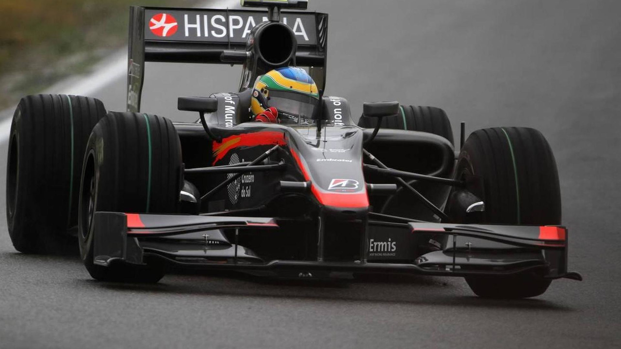 Bruno Senna (BRA), Hispania Racing F1 Team HRT, German Grand Prix, Friday Practice, 23.07.2010 Hockenheim, Germany