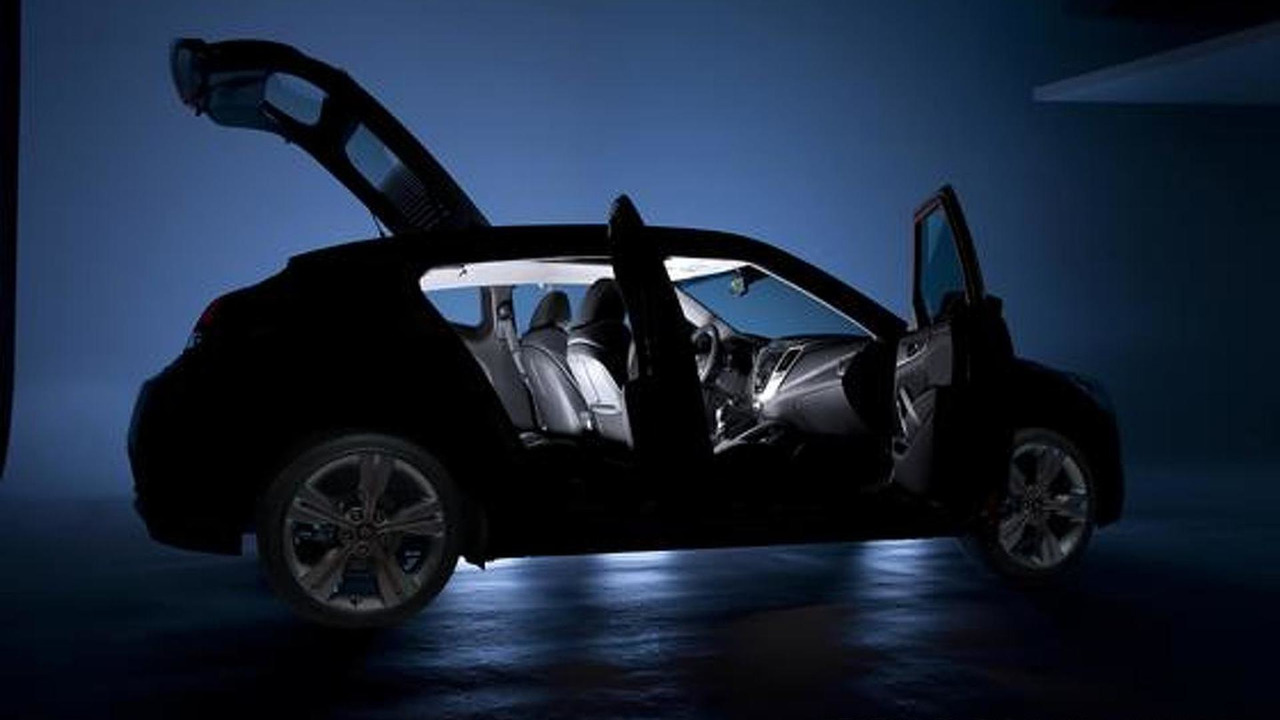 2012 Hyundai Veloster teaser image - 1.5.2011
