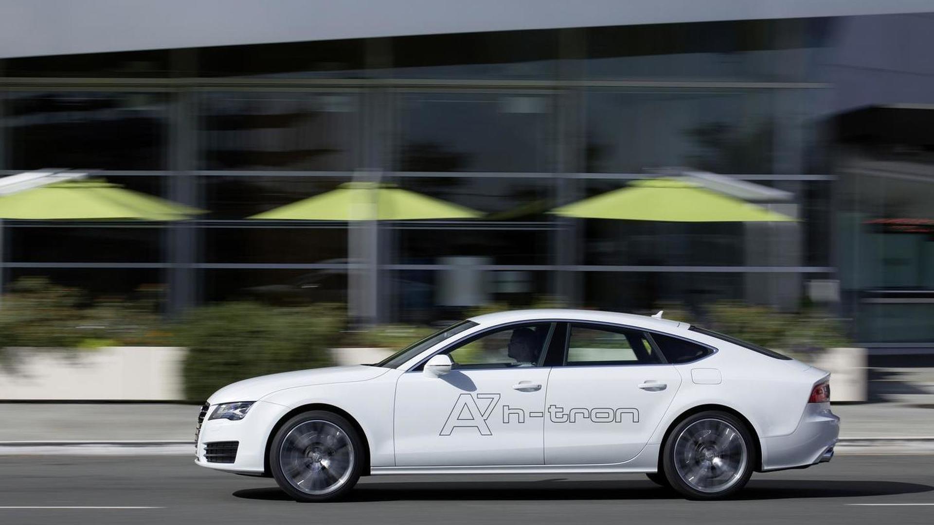 Audi A7 Sportback h-tron quattro 2014 года