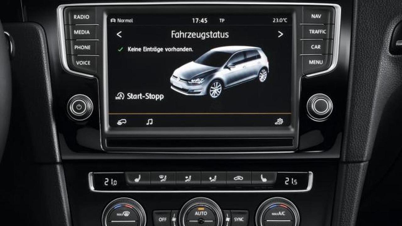 Volkswagen Golf VII Radio-navigation system Discover Pro