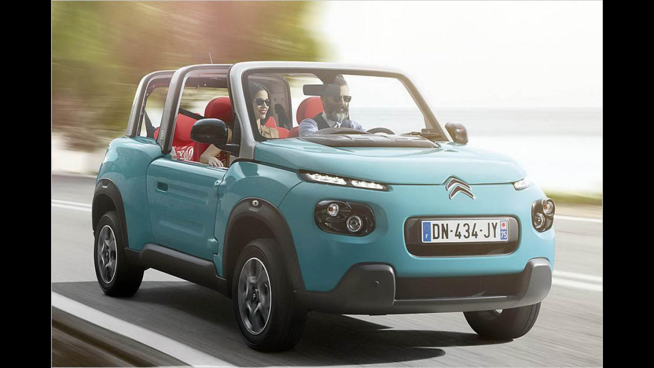 Citroën E-Méhari: 100-200 km