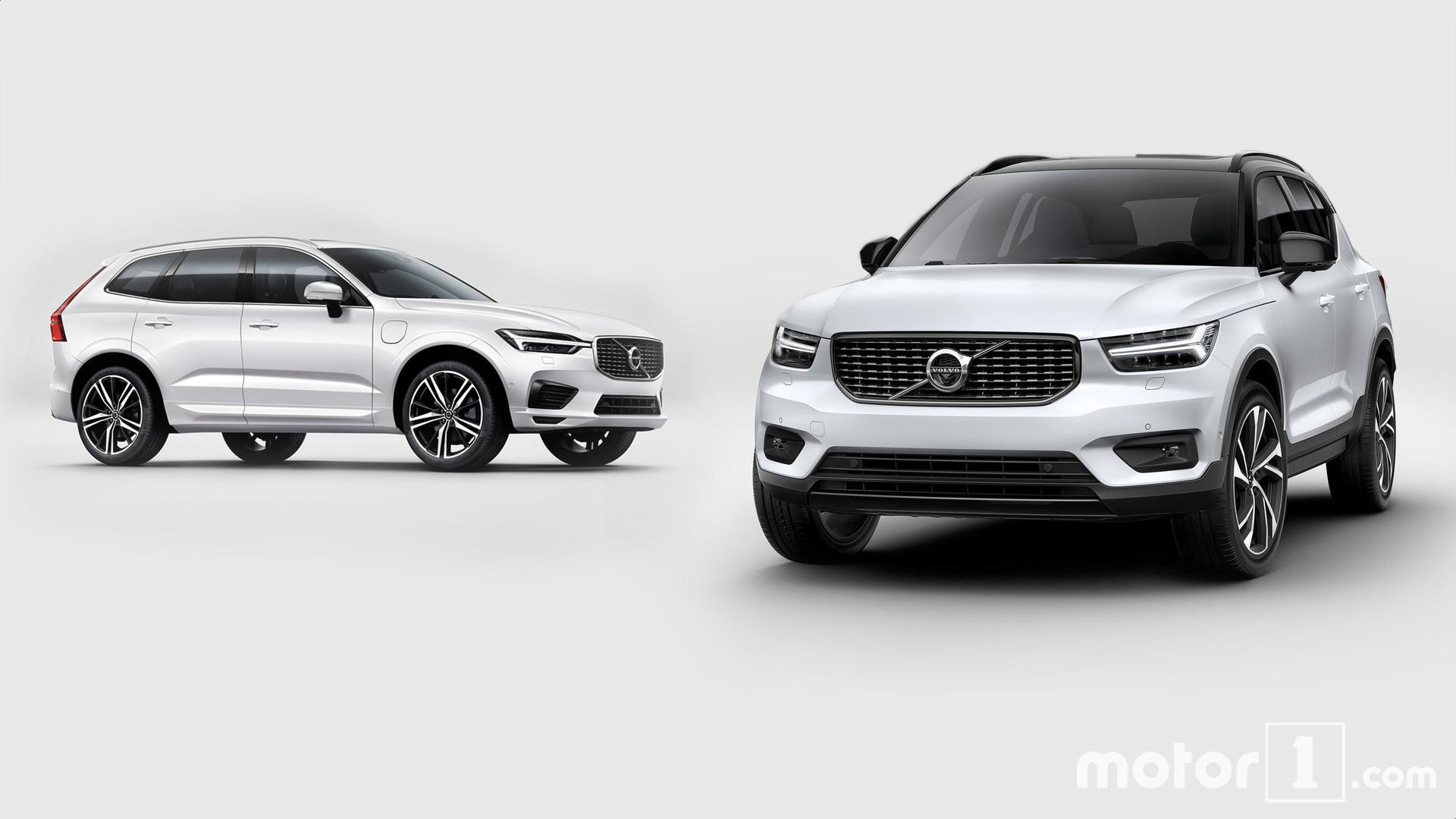 comparatif le volvo xc40 face son grand fr re xc60. Black Bedroom Furniture Sets. Home Design Ideas