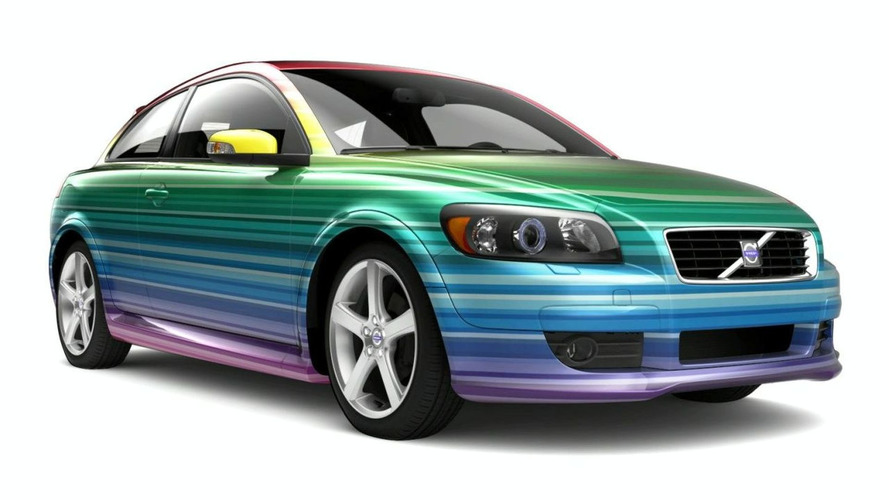 Volvo Releases Special Adhesive Designs for C30 (SE)