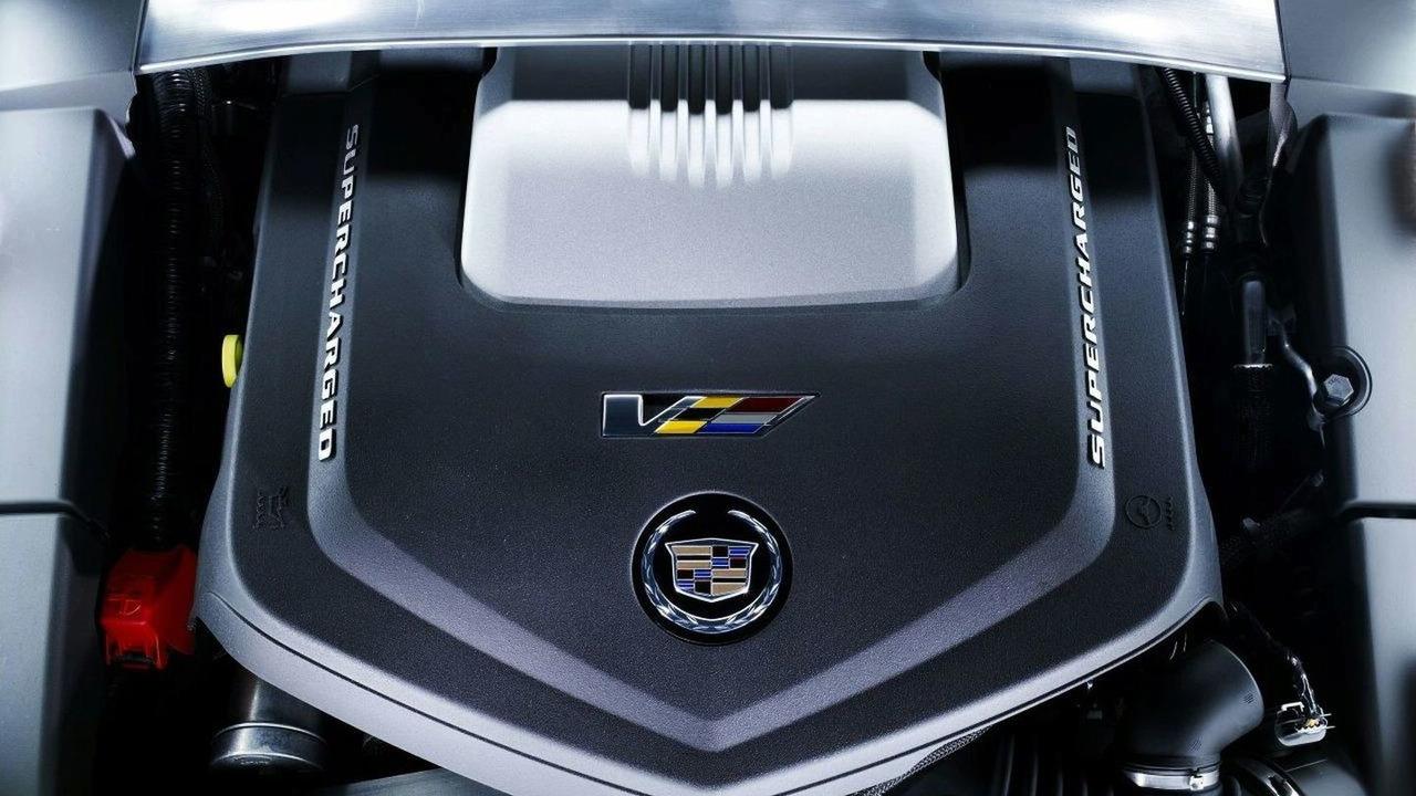 6.2 liter V8 in Cadillac CTS-V