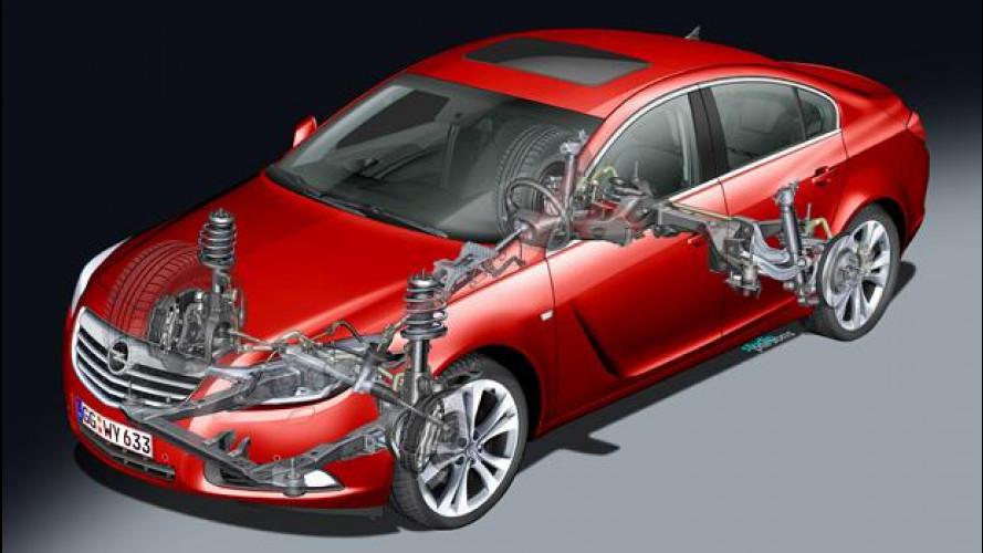 Opel Insignia con telaio SuperSport: nuove varianti