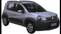 Flagra! Novo Fiat Uno Way aparece sem disfarces