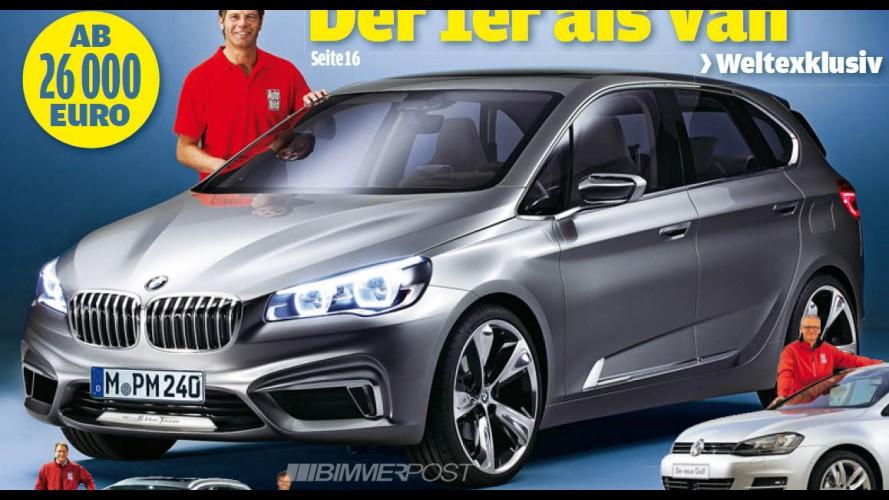BMW Série 1 GT - Vaza a primeira foto do Compactive Tourer Concept